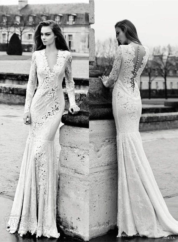 Black sheath wedding dresses