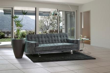Sofa cama grisI