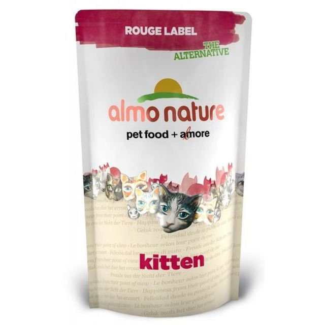 Almo Nature Cat Pouch Rouge Label Kitten