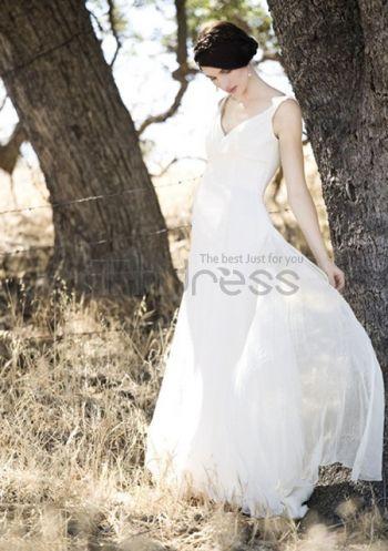 Abiti da Sposa Premaman-elegante chiffon con abiti da sposa premaman impero forma