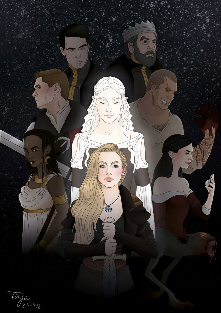 """propshophannah: """" sweetfinjadrawings: """" """"You could rattle the stars, You could do anything If you only dared."""" -Sarah J. Maas Throne of Glass After I read the first novel from the """"Throne of Glass"""" Series I simply had to draw this. The main..."""