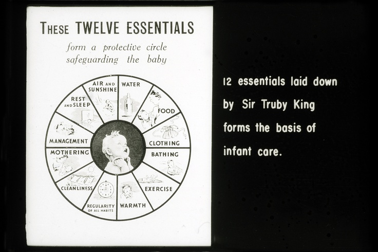 '12 Essentials', Truby King, 1955
