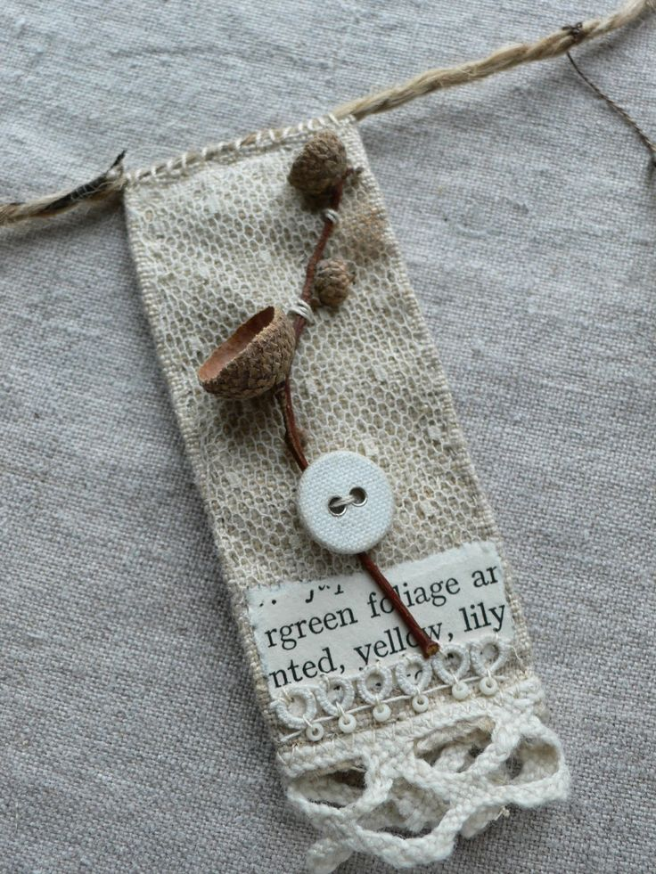 gentlework: 'nature bunting' and a little bit about me...