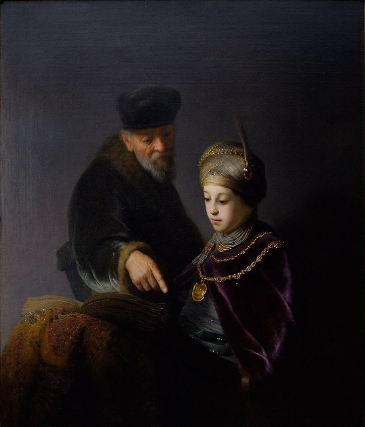 Ο πρίγκιπας Ρούπερτ του Παλατινάτου και ο καθηγητής του (1631)