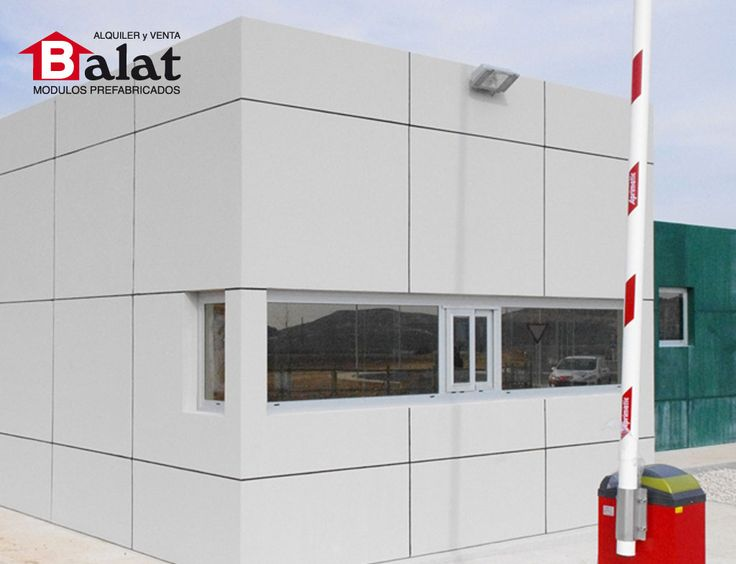 Construcci n modular caseta prefabricada para aceites la for Construccion modular prefabricada