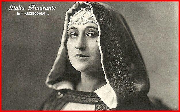 Italia Almirante Manzini ne L'arzigogolo, regia di Mario Almirante (1924)