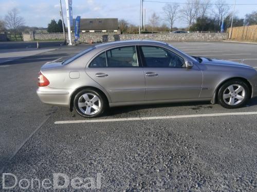 03 Mercedes E220 CDI Automatic