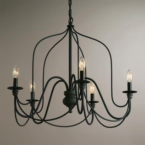 Rustic Wire Chandelier | World Market $169.99