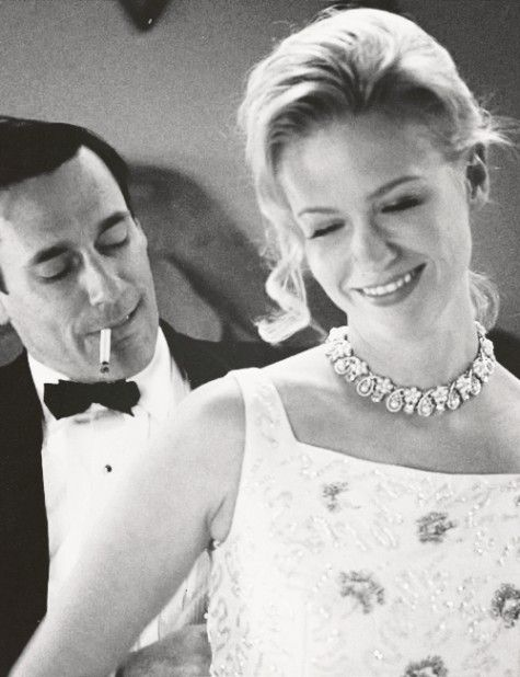 Don and Betty Draper (Jon Hamm & January Jones) of Mad Men