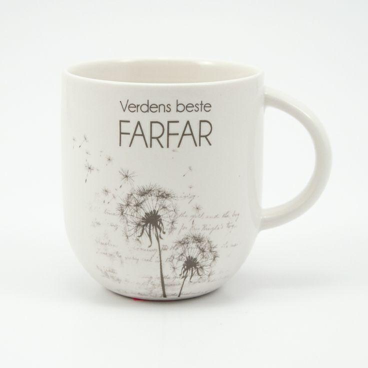 Kaffekopp til verdens beste farfar fra lea.no
