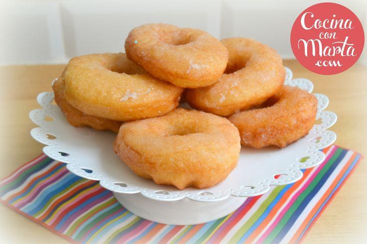 Donuts o berlinas. Fácil, sencillo, video, paso a paso