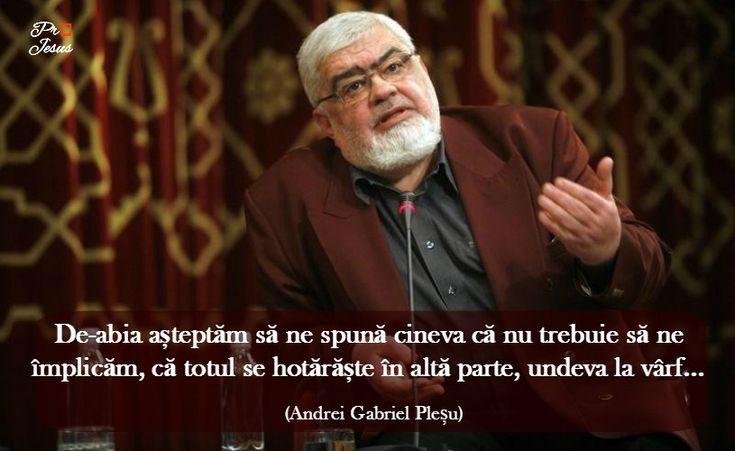 Citatul zilei: Andrei Gabriel Pleșu