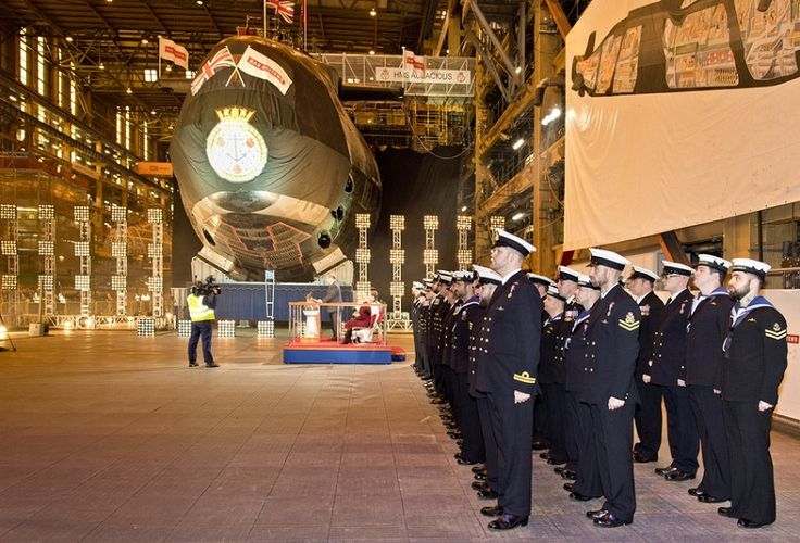 Fourth submarine in Astute Class named at Barrow-in-Furness http://www.cumbriacrack.com/wp-content/uploads/2016/12/RS54017_2016-12-1651-0958-scr.jpg Audacious, the fourth submarine in the Astute class, was officially named today during a ceremony at BAE Systems' Submarines site in Barrow-in-Furness, Cumbria.    http://www.cumbriacrack.com/2016/12/16/fourth-submarine-astute-class-named-barrow-furness/