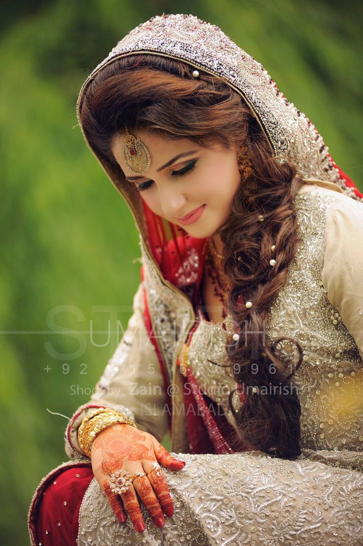 Pretty bride, umairish studio photography