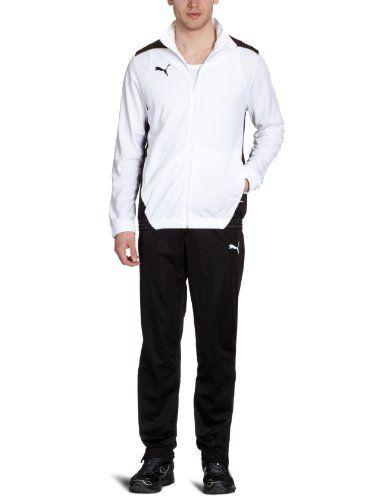 #PUMA #Herren #Trainingsanzug #Foundation #Poly #Suit #II, #White-Black, #S, #653575 #04 PUMA Herren Trainingsanzug Foundation Poly Suit II, White-Black, S, 653575 04, , Jacke: Gesticktes PUMA Cat Logo auf der rechten Brust., Elastisches Ärmelbündchen und Saum, Hose: Gesticktes PUMA Cat Logo auf dem linken Hosenbein, Beinöffnung mit Reißverschluss, Kordelzug im elastischen Bund