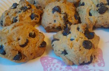 Μπισκοτάκια cookies με σοκολάτα της Αναστασίας