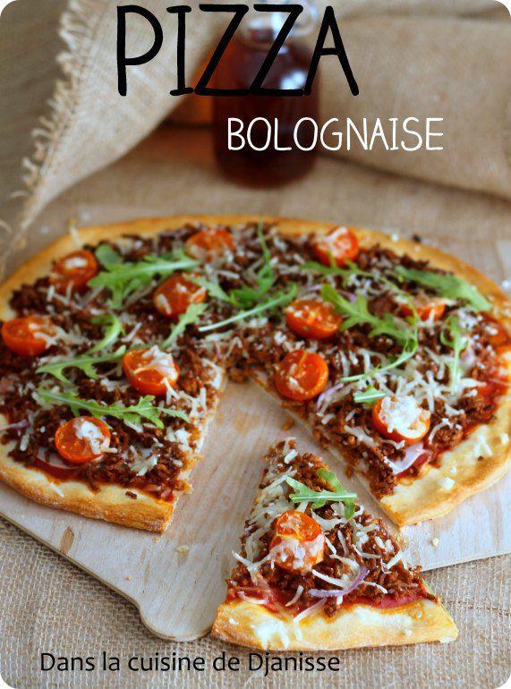 Pizza bolognaise {végane}