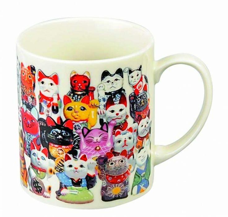 Thee Kop w/Handvat Lucky Cats / The Oriental Shop