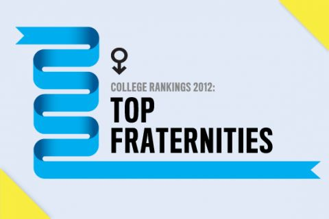 College Rankings 2012: Top Fraternities  #10 Alpha Phi Alpha Fraternity, Inc.   Sidenote; Educational foundations are done at the chapter level with my fraternity. I wish we had that collective amount to report!!
