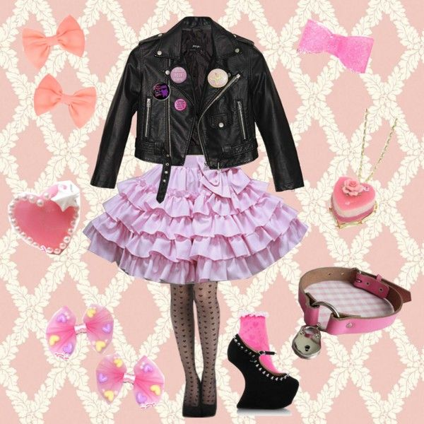 Fairy Kei/Creepy Cute Outfit for Kyary Pamyu Pamyu Concert - Polyvore