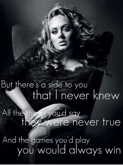Set Fire To The Rain: Adele