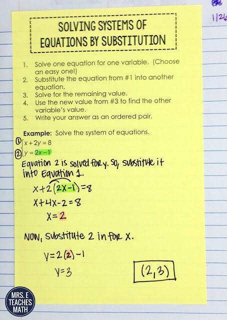 486 Best Algebra 1 Images On Pinterest High School Maths