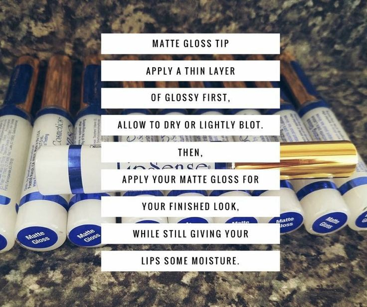Matte gloss can be worn over any Lipsense color for a matte look    Lipsense is an amazing long-lasting Lipstick is smudge-proof has an average wear time of 6-10 hours!!   Want to order or more info Facebook: Snazzy Lips by Sarah