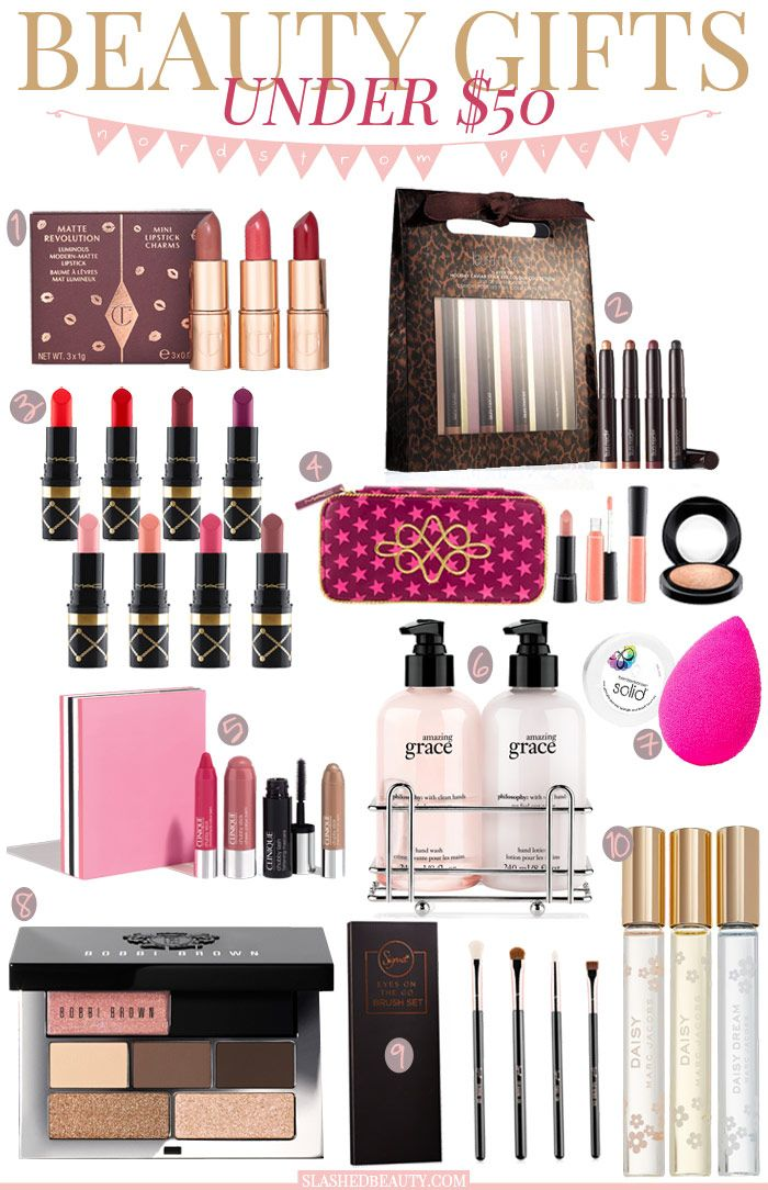 Holiday Gift Guide: Beauty Gifts Under $50 | Slashed Beauty