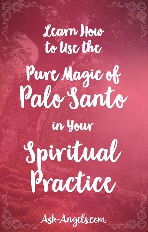 Learn How to Use the Pure Magic of Palo Santo in Your Spiritual Practice
