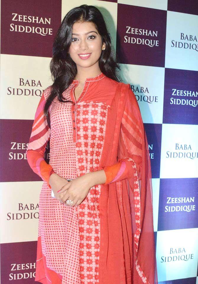 Digangana Suryavanshi at Baba Siddique's iftar party. #Bollywood #Fashion #Style #Beauty #Hot #Desi #Ethnic