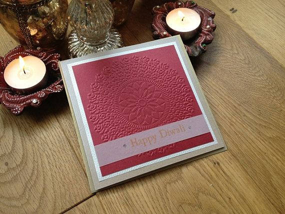 Handmade Diwali Cards  3 beautiful greeting card by RatanjiRani