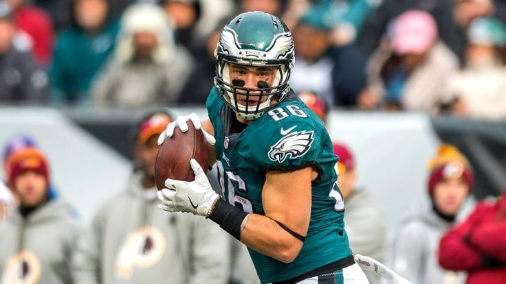 Eagles' Zach Ertz out with hamstring injury; Jay Ajayi active - ESPN