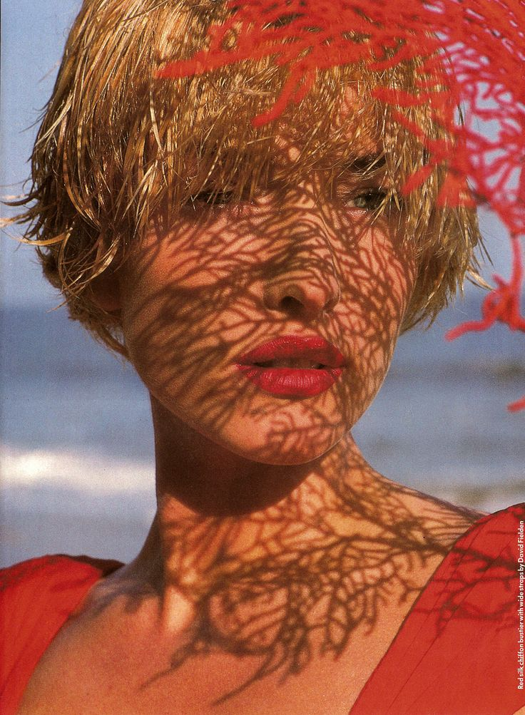 Tatjana Patitz by Herb Ritts for Giorgio Beverly Hills 1989 Campaign.