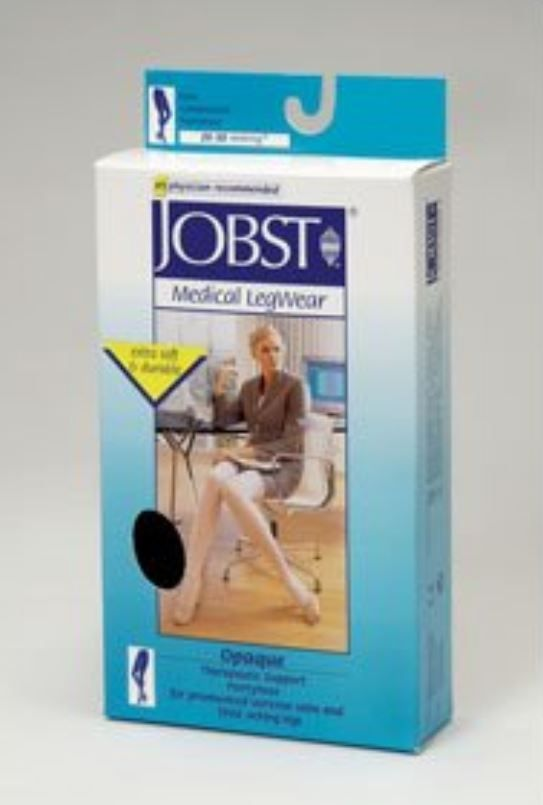 Jobst Opaque Knee High Compression Stockings (Small, Beige, Knee CT) - 115212 | http://www.bonanza.com/booths/WellnessMedSpa