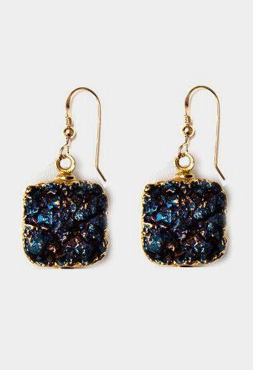 Lacy Blue Earrings