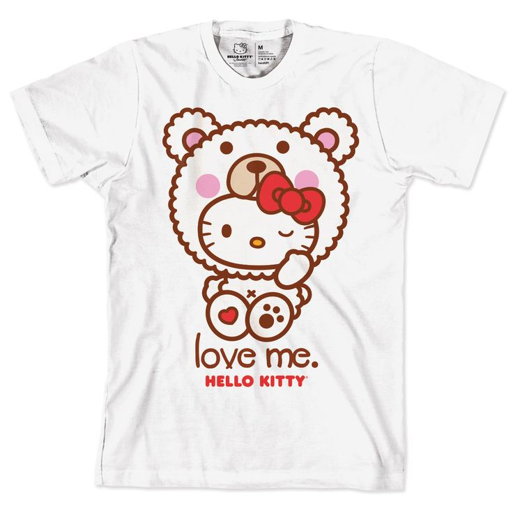 Camiseta Hello Kitty Love Me
