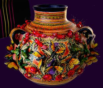 Divine mexican pottery art.