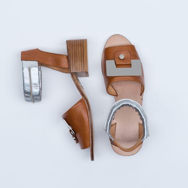 Fanni Mid-Heel Sandal | Lumi Accessories