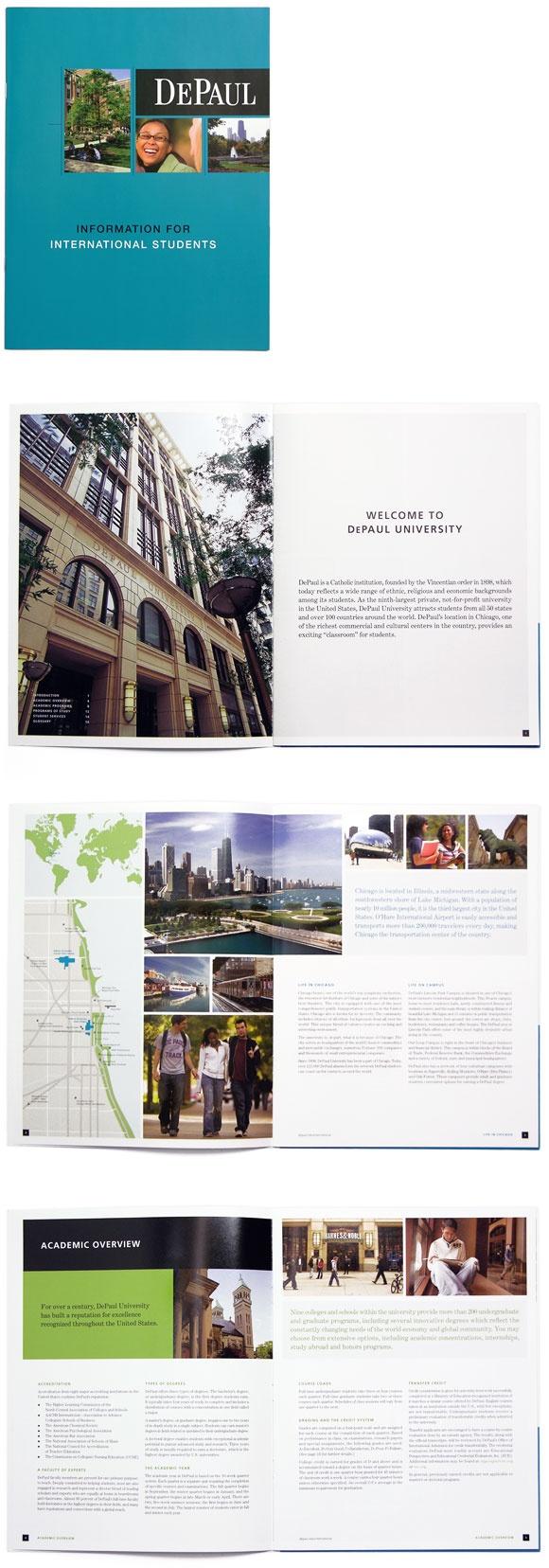 Color printing depaul - Horizontal Picture Packaging