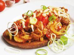 Recept na Ostrá zeleninová směs na topinky