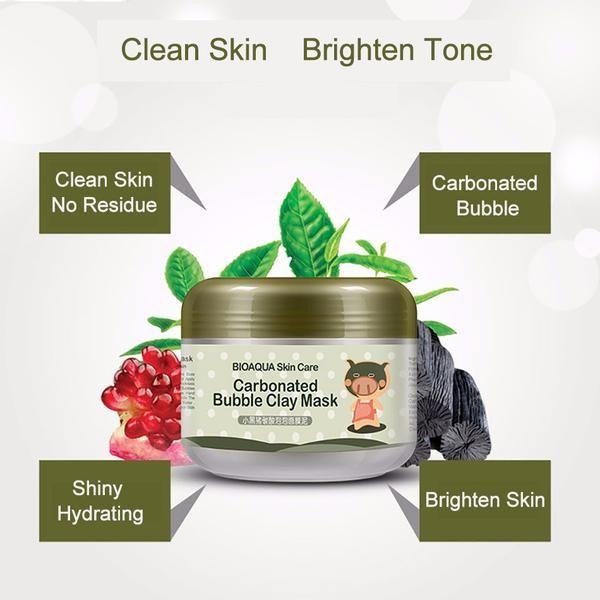 Moisturizing Bubble Clay Mask Carbonated Bubble Clay Mask Skin Care Moisturizer Oil Control Products