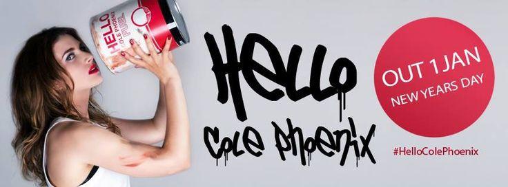 @CPhoenixTweets: 'Hello' fuels new years day 2015! Share! #HelloColePhoenix  iTunes, AmazonMP3, Rhapsody, eMusic, Spotify, Google Play, Rdio