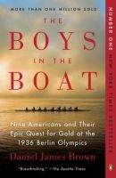 Cathy's favorite of 2015 is The Boys in the Boat, the epic historical account of the Washington rowing team winning gold in the 1936 Olympics. The narrative is energetic and impressive allowing us to appreciate the characters' relationships.