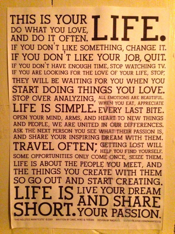 this is your life - gevonden op een toilet ...