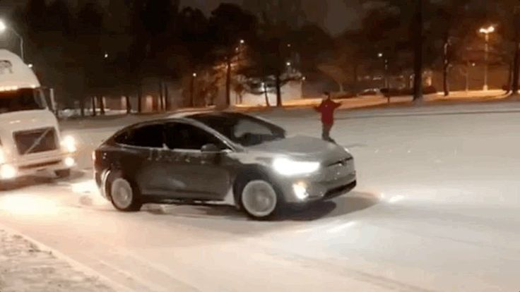 The Tesla Model X is an impressive performance machine, one day embarrassing cars at the drag strip and the next helping to pull giant trucks trapped on just the slightest snowy incline.