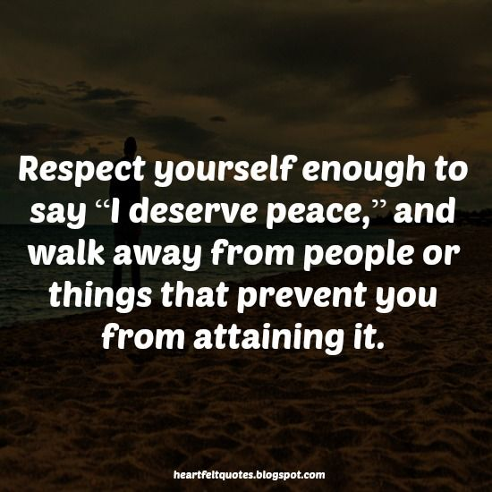 Respecting Life Quotes: Best 25+ Respect Yourself Quotes Ideas On Pinterest