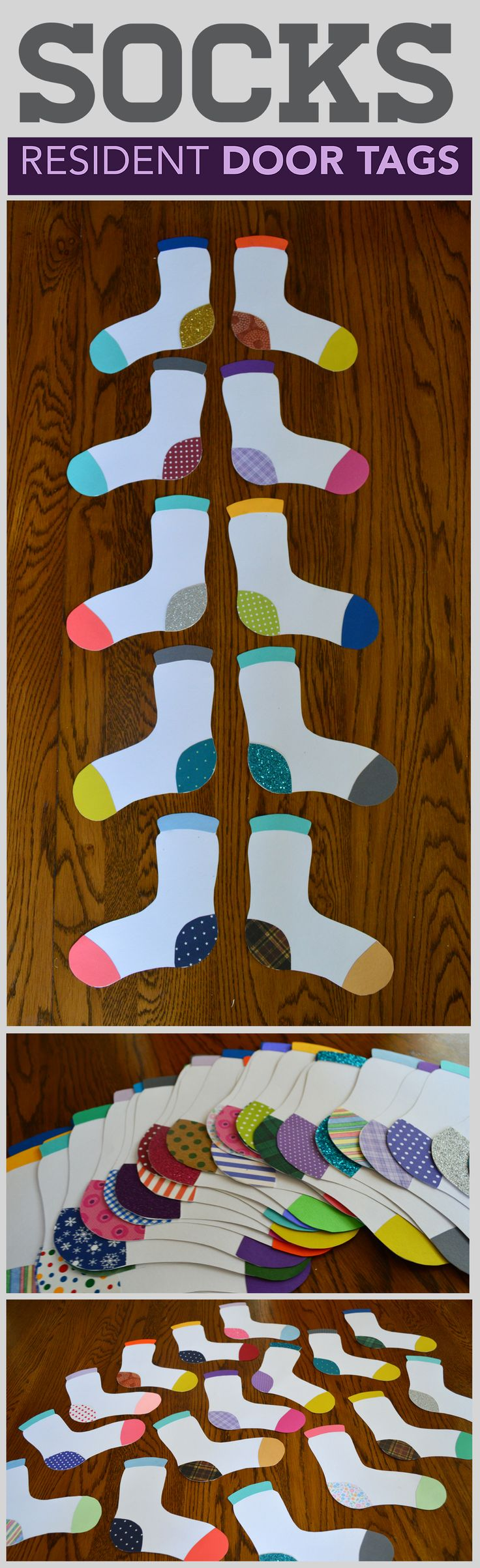 Socks with heart patterns for February! Incorporates Valentines day and the time of year that you want to be warm