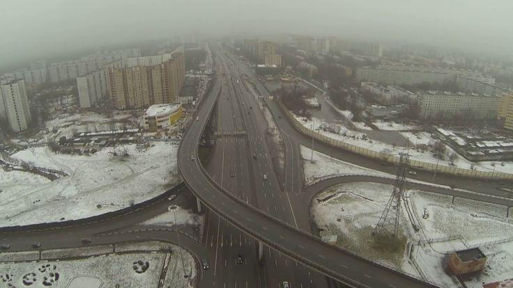 торговый центр,январь,2014,год,рязвязка,мкад,ярославское шоссе,трафик,па...