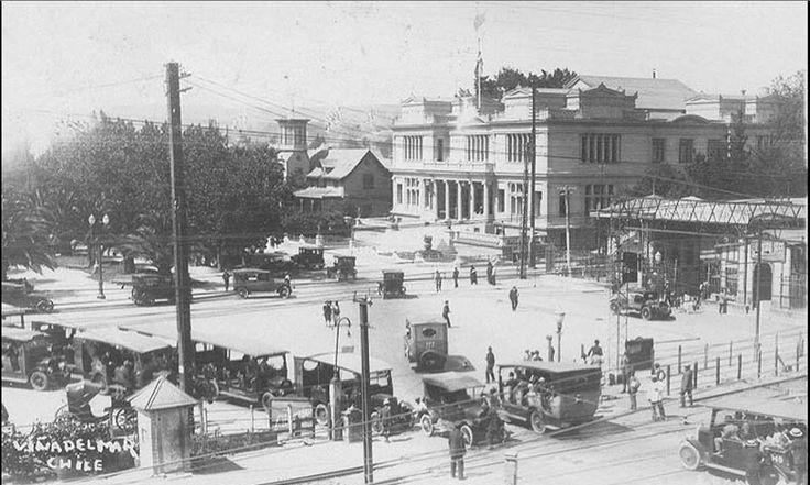 Plaza Sucre, Estación d Trenes, Club de Viña    (1926)  (X)