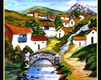 paisajes peruanos para pintar - Buscar con Google